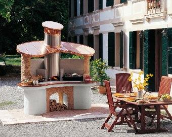 Barbecue a legna mod sumatra palazzetti - Cucine a legna palazzetti ...