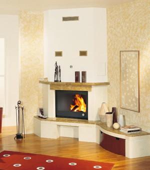 rivestimento camino in marmo : Rivestimento aerjolly 80 in marmo biancone