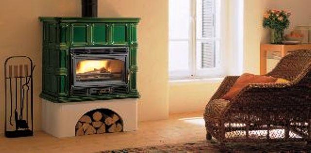 Stufa a legna modello ingrid 64 palazzetti - Stufe a legna ventilate ...