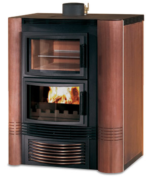 Stufe a legna termostufa a legna caldea lusso - Stufe a pellet jolly mec ...