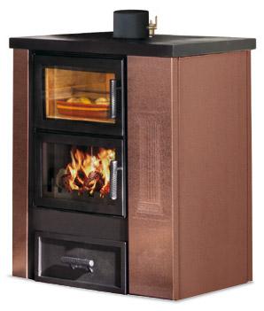 Stufe a legna termostufa a legna caldea base - Stufe a legna per riscaldamento termosifoni ...